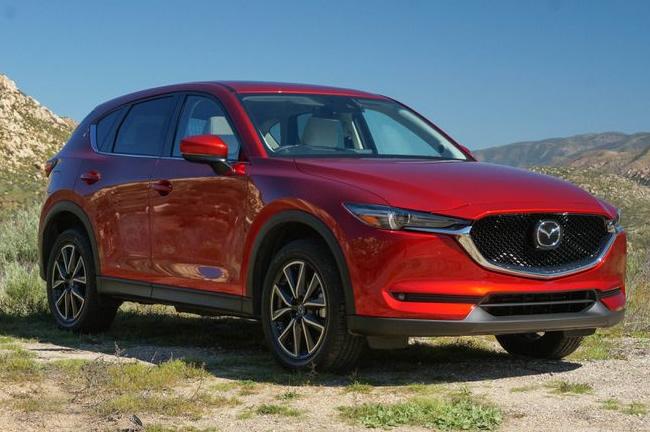 Mazda CX-5 2017 модельного года