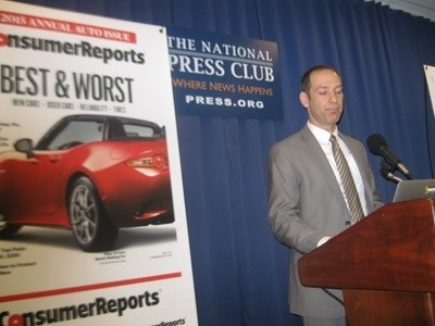 Jake Fisher , director of auto testing at Consumer Reports