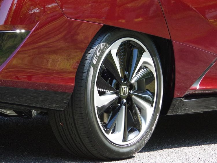 Bridgestone Ecopia EP160 on Honda Clarity