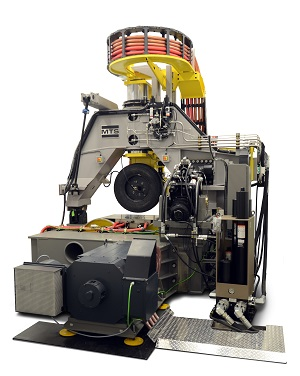Чудо-стенд MTS Flat-Trac CT Plus, на котором проводятся различные испытания шин