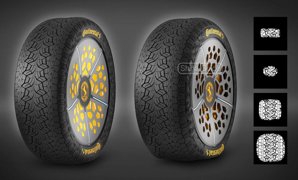 Чувствительно-адаптивные концептуальные шины Continental