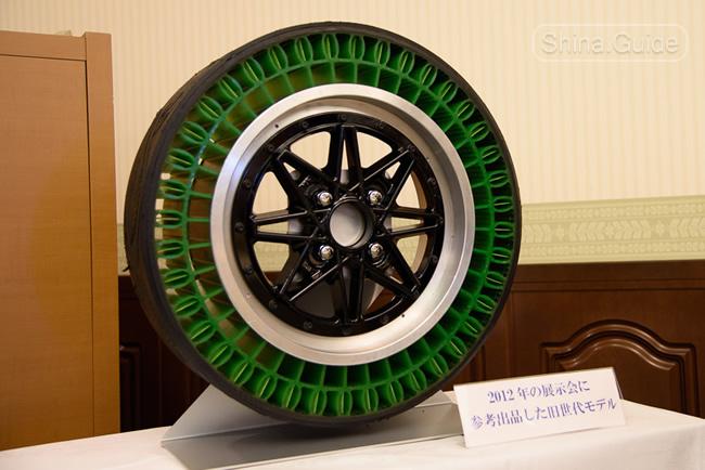 Безвоздушные шины Тойо пятого поколения