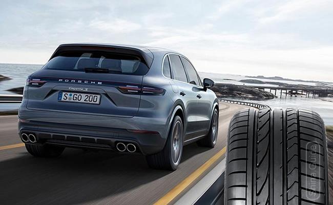 Шины Bridgestone Dueler H/P Sport омологированы для Porsche Cayenne