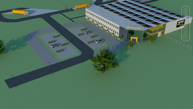 Дизайн исследовательской лаборатории Continental в Анкламе