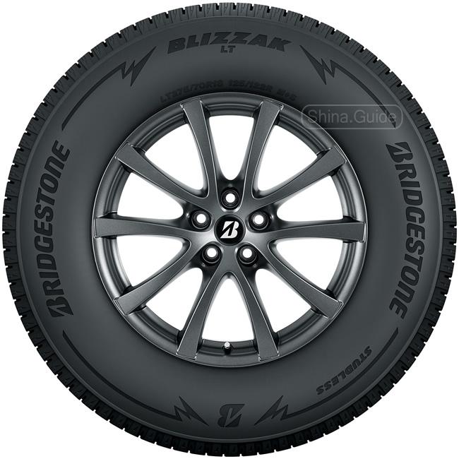 Зимняя новинка Bridgestone Blizzak LT