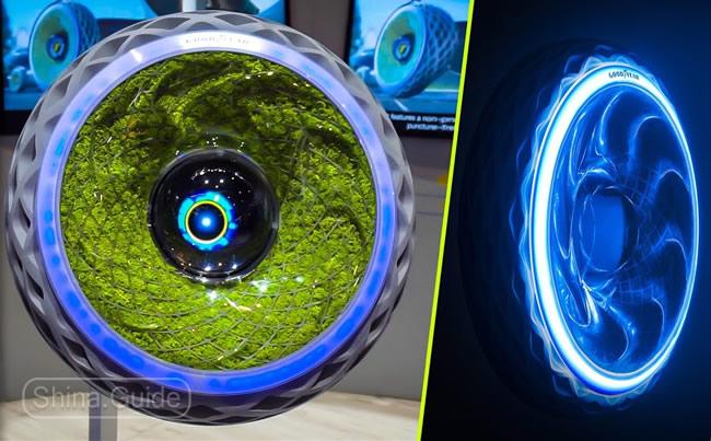 Oxygene - футуристический концепт компании Goodyear