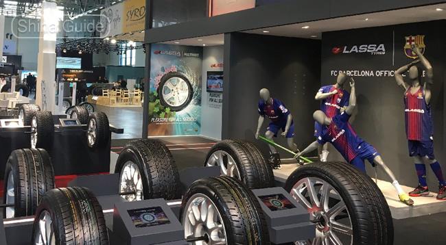 Выставочный стенд Lassa Tyres на The Tire Cologne 2018