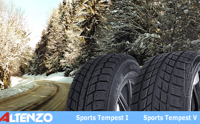 Шины Altenza Sports Tempest I и Altenza Sports Tempest V