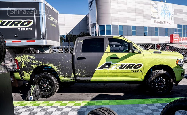 Atturo Tires at SEMA 2019