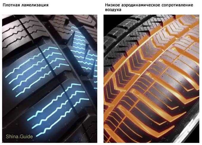 Особенности дизайна протектора Quatrac 5