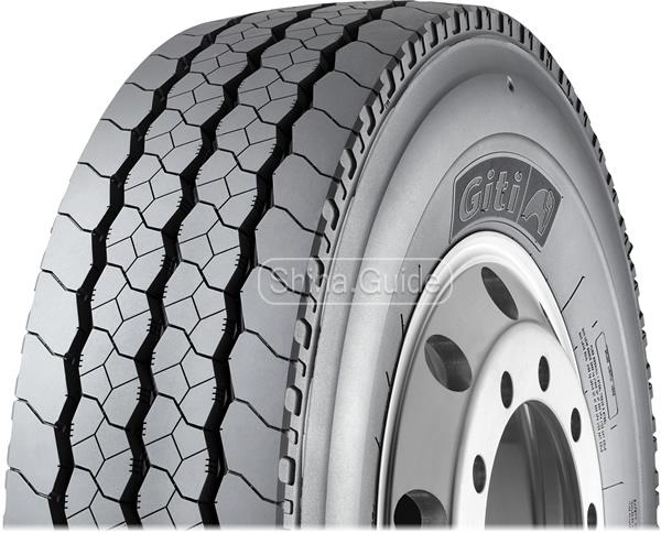 Всепозиционные грузовые шины для городских условий эксплуатации Giti GT867