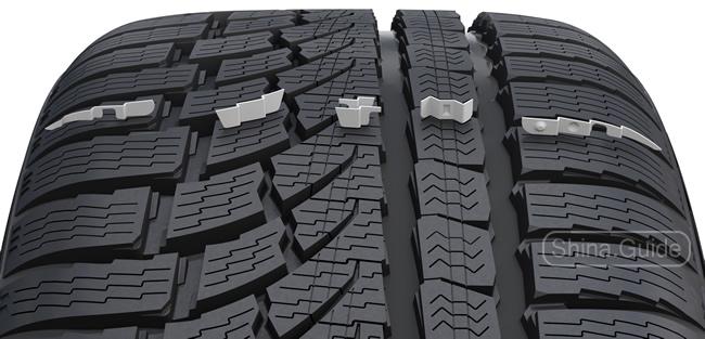 Повышающие общую производительность шины функциональные ламели (Functional Performance Siping)
